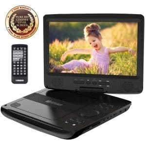 Top 5 Best Portable DVD Player For Airplane Travel And Kids 10