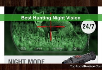 The Best Night Vision Scope For Hog And Coyote Hunting