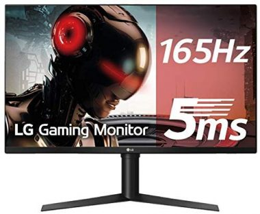LG 32GK850G-B 32 QHD Gaming Monitor with 144Hz Refresh Rate and NVIDIA G-Sync