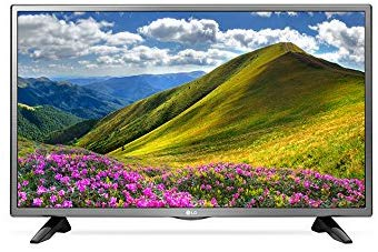 LG 32LJ570 32 HD Multi-System Smart Wi-Fi LED TV wFree HDMI Cable, 110-240 Volts