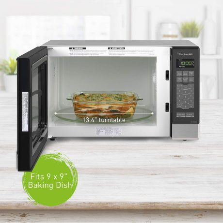 Panasonic Microwave Oven NN-SN686S Stainless Steel CountertopBuilt-In with Inverter Technology and Genius Sensor
