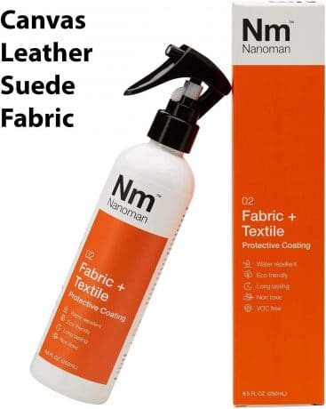 Shoe Protector Spray - Water RepellentWaterproof Suede Shoes, Leather, Canvas, Nubuck & Fabric Boots. Latest Hydrophobic Nano-Tech Formula.