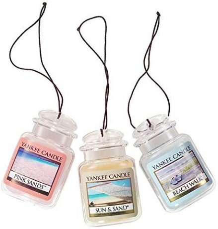 Yankee Candle Car Jar Ultimate Hanging Air Freshener 3-Pack