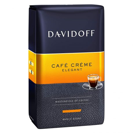 Davidoff Café Crème Whole Beans Coffee 17.6oz500g