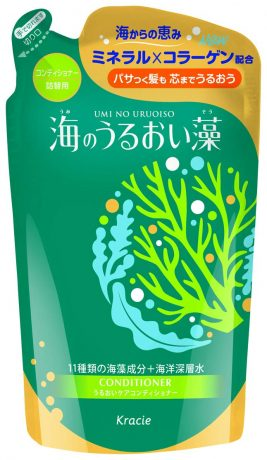 Kracie(Kanebo Home Products) Umi no Uruoiso Seaweed moisturizing Conditioner Refill