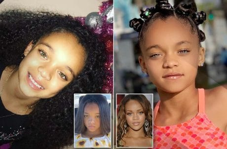 Rihanna Childhood Live